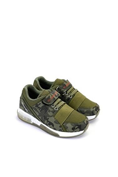 Slazenger Unisex Çocuk ELA Spor Ayakkabı SA10LP070-800X Haki